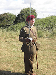 Full Dress Blues of 12th Battalion Parachute Regiment